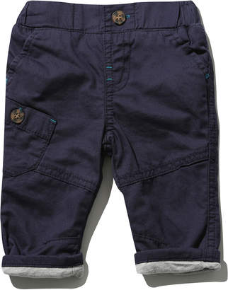 M&Co Twill turn up trousers