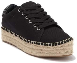 Steve Madden Attitude Denim Platform Espadrille Sneaker