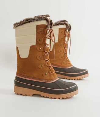 Khombu Adeline Duck Boot $89 thestylecure.com