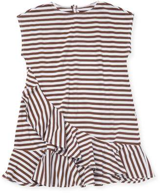 Il Gufo Little Girl's Stripe T-Shirt Dress