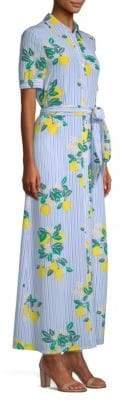 Draper James Lemon Print Shirtdress
