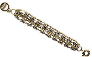 Giles & Brother Multistrand Crystal Chain Bracelet $50 thestylecure.com