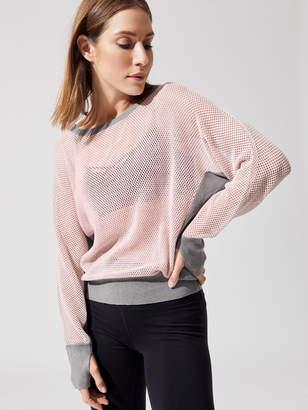 Blanc Noir Flutter Sweater