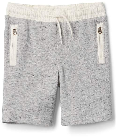 Pull-On Shorts in French Terry