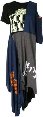 Puma Maison Yasuhiro deconstructed T-shirt dress