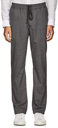 Vince MEN'S HEATHERED WOOL TROUSERS
