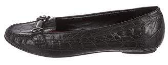 Johnston & Murphy Embossed Leather Loafers