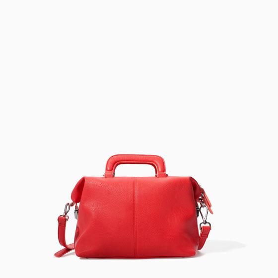 Zara Mini Bowling Bag