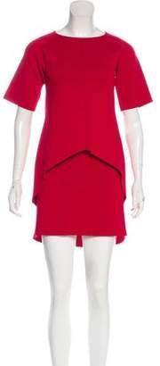 Scanlan Theodore High-Low Knit Skirt Set