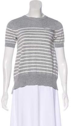 Sacai Stripe Knit Top w/ Tags