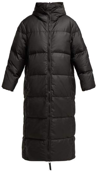Love Down Quilted Coat - Womens - Black