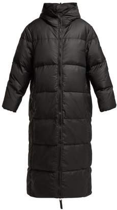 Katharine Hamnett Love Down Quilted Coat - Womens - Black