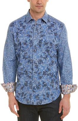 Robert Graham Hutchinson Classic Fit Woven Shirt