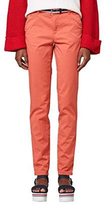 Esprit Women's 028ee1b044 Trouser, (Light Aqua Green 390), (Size: 36)