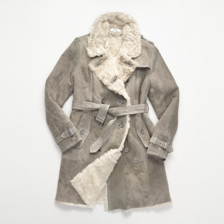 Shearling Trench
