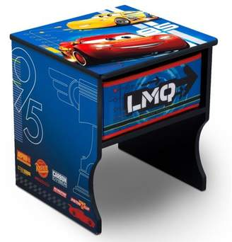 Disney Pixar Cars Wood Side Table with Storage by Delta Children