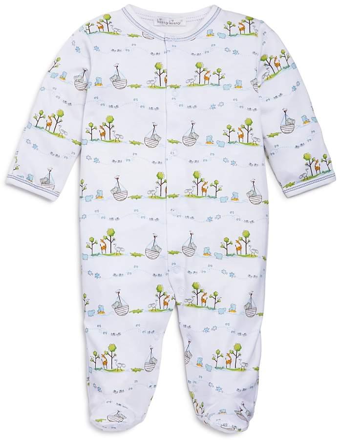 Boys' Noah's Ark Print Footie - Baby