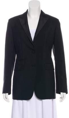 Prada Fitted Long Sleeve Blazer