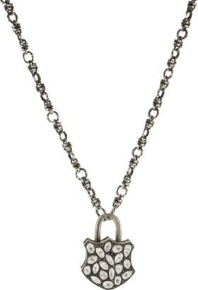 Sevan Biçakci Large Rose Diamond Lock Pendant