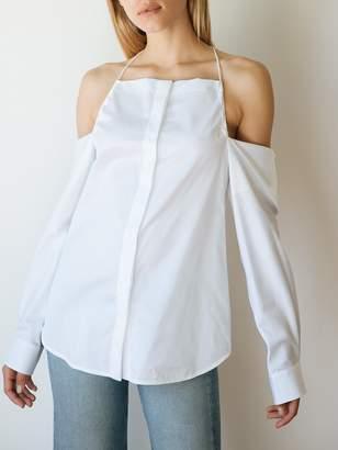 CHRISTOPHER ESBER Jojo Drop Shoulder Halter Shirt