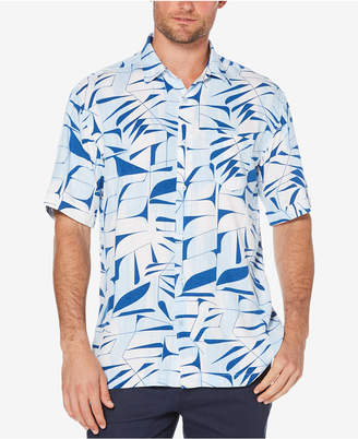 Cubavera Men's Leaf Print Shirt