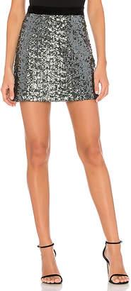 Milly Modern Sea Glass Sequin Skirt
