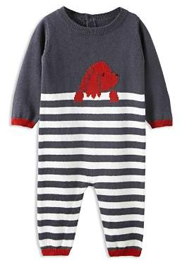 Jacadi Boys' Striped Dog Jumpsuit - Baby