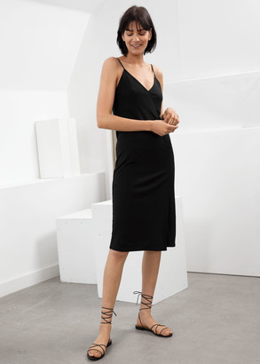 And other stories Spaghetti Strap Slip Dress