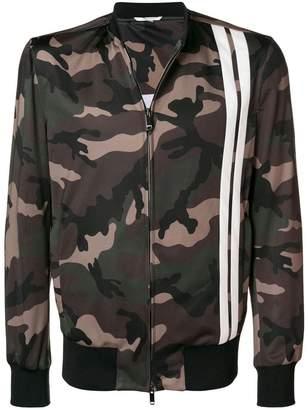 Valentino camouflage track jacket