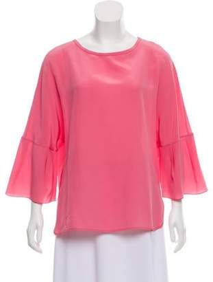 Mantu Silk Long Sleeve Blouse w/ Tags