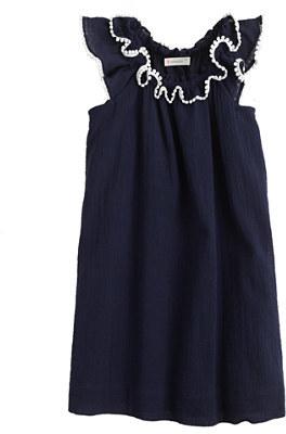 J.Crew Girls' pom-pom peasant dress