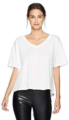 KENDALL + KYLIE Women's Off Shoulder V Neck in White