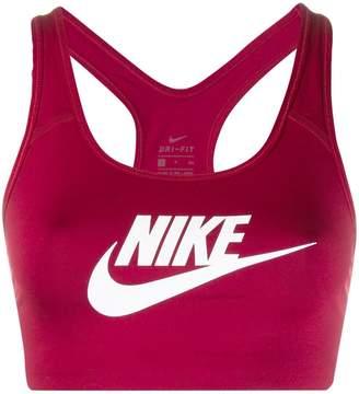 Nike logo sports bra