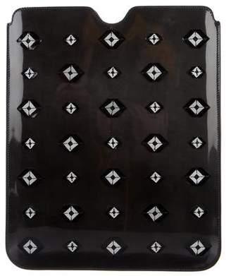 Prada Embellished iPad Case
