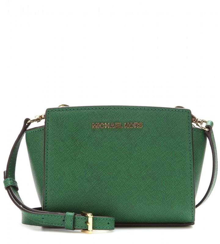 MICHAEL Michael Kors Selma Mini Messenger leather shoulder bag