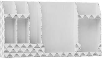 Pottery Barn Teen No Nails Fabric Wall Organizer, Mod Triangles