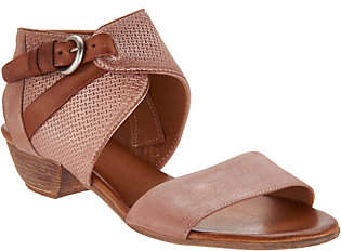 Miz Mooz Leather Buckle Sandals -Cheerful