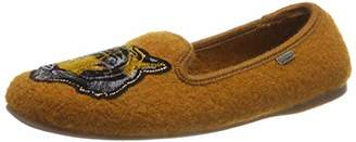 Living Kitzbühel Women's Laschenballerina Tiger Low-Top Slippers
