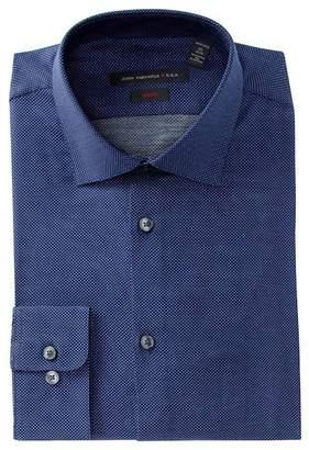 John Varvatos Collection Pin Dot Slim Fit Dress Shirt