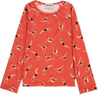 BOBO CHOSES Swimmers Vintage UV Protective T-Shirt $54 thestylecure.com