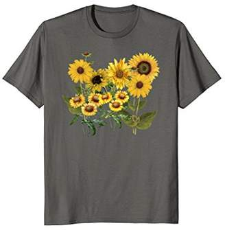 Variety of Sunflowers Field of Yellow Flowers T-Shirt