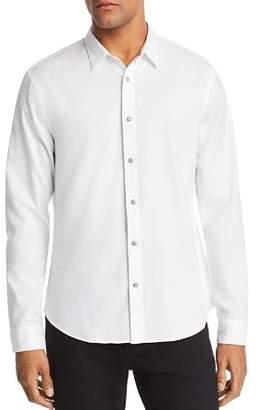 John Varvatos Clean Snap-Front Regular Fit Oxford Shirt