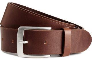 H&M Leather Belt - Orange