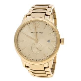 Burberry Gold Steel Watches