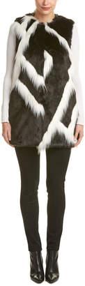 Dawn Levy Tyra Fuzzy Vest