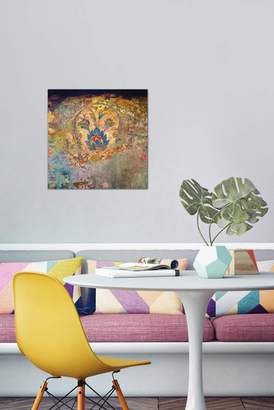 """Blue Temple by Aimee Stewart Gallery-Wrapped Canvas Print - 37\""""x37\"""""""