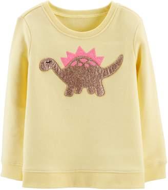 Osh Kosh Oshkosh Bgosh Toddler Girl Embellished Graphic Sweatshirt