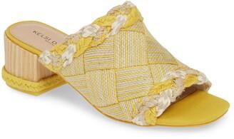 Kelsi Dagger Brooklyn Scarlet Slide Sandal