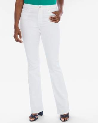 Platinum Barely Bootcut Jeans