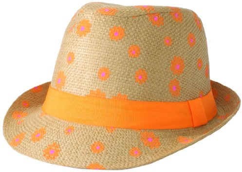 Collection XIIX Women's Daisy Printed Fedora Hat